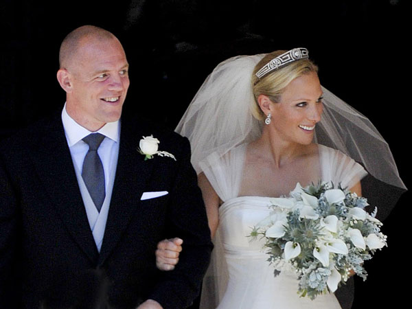 Zara Phillips and Mike Tindall name daughter