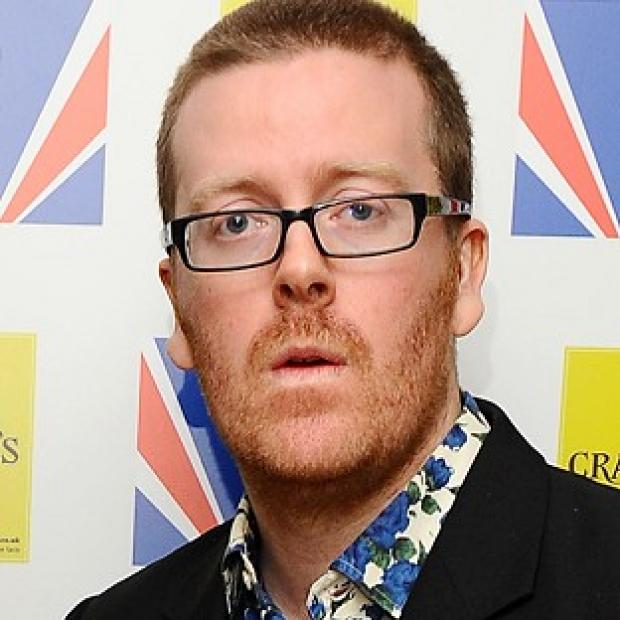 Frankie Boyle has been criticised for comments about schoolchildren who arranged themselves in the shape of the Olympic rings