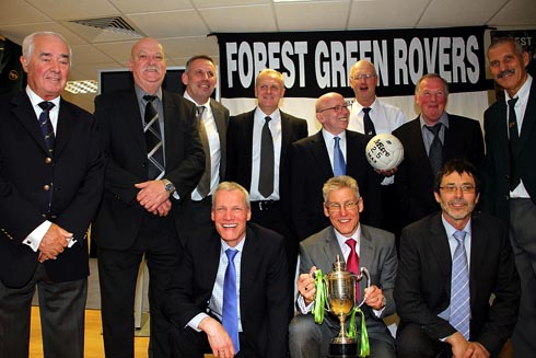 Forest Green's Wembley reunion Picture: Shane Healey
