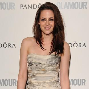 Kristen Stewart went for a denim look at the wedding reception