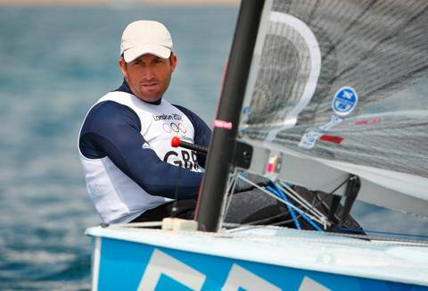 TOUGH DAY TWO: Ben Ainslie