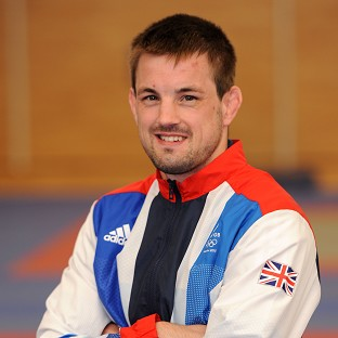 Colin Oates moved into the third round of the men's -66kg judo
