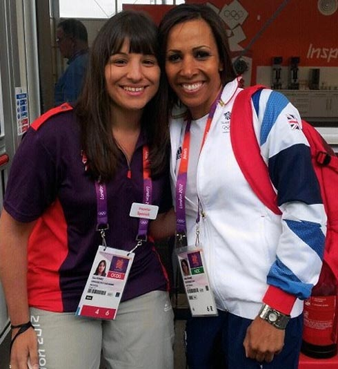 Wycliffe teacher meets Michelle Obama and Dame Kelly Holmes at London 2012
