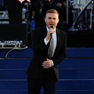 Gary Barlow took to the stage at the Olympic Closing Ceremony despite his baby heartbreak