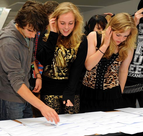 GCSE results - 80 per cent of Archway School students achieve five or more A* to C grades