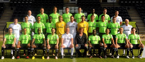 Forest Green Rovers FC 2012/13 Picture: Carl He