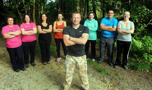 Ex-soldier sets up fitness bootcamps around Stroud