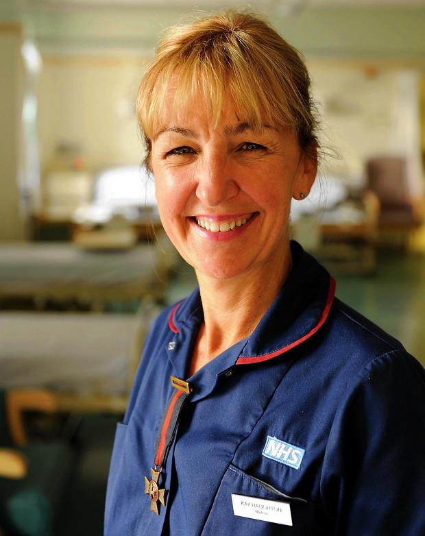 Kay Haughton, matron at Stroud General Hospital is leaving to work for the commissioning arm of NHS Gloucestershire