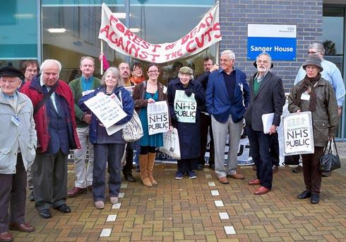 Campaigners celebrate landmark victory as NHS bosses vote to keep community health services in public sector