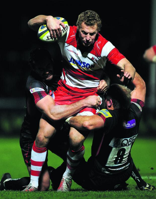 Stroud News and Journal: Gloucester's Billy Twelvetrees