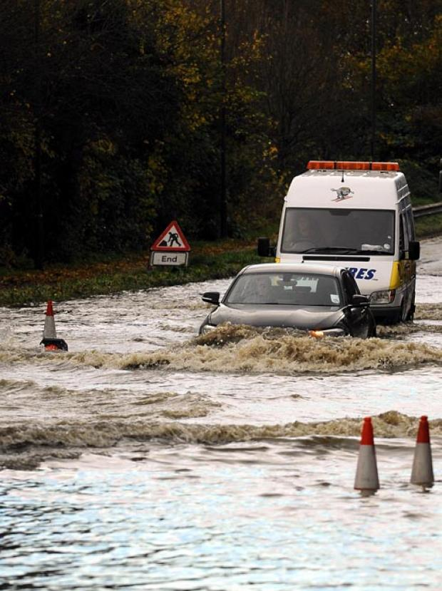 Flooding update - Gloucestershire Police express disappointment at motorists driving through floodwater