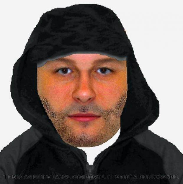 An e-fit has been released of a man in connection with a burglary in Farmhill Lane, Stroud