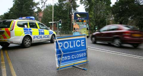 Two children seriously injured in collision in Stroud