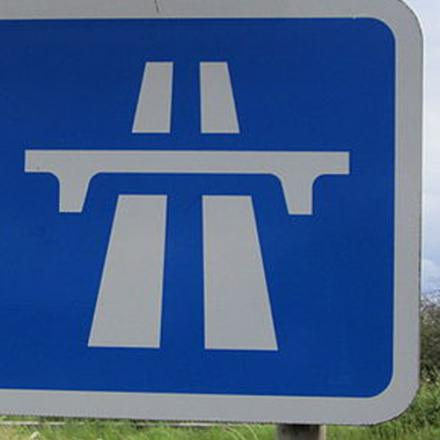Lane closed on M5 at junction 12