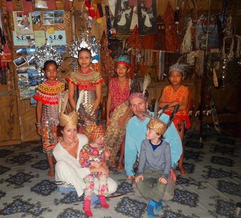 The West family visit a tribe deep in the jungle on Borneo