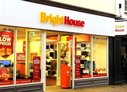 The shopfront of the BrightHouse store in King Street, Stroud