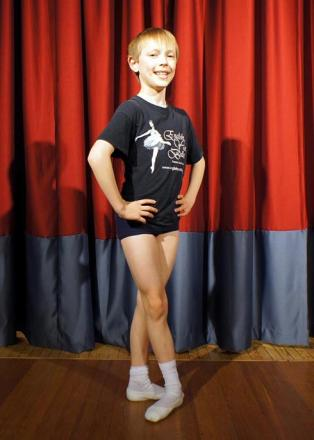 Young ballet star Samuel Banks, 10, has landed two roles in an English Youth Ballet production of The Sleeping Beauty
