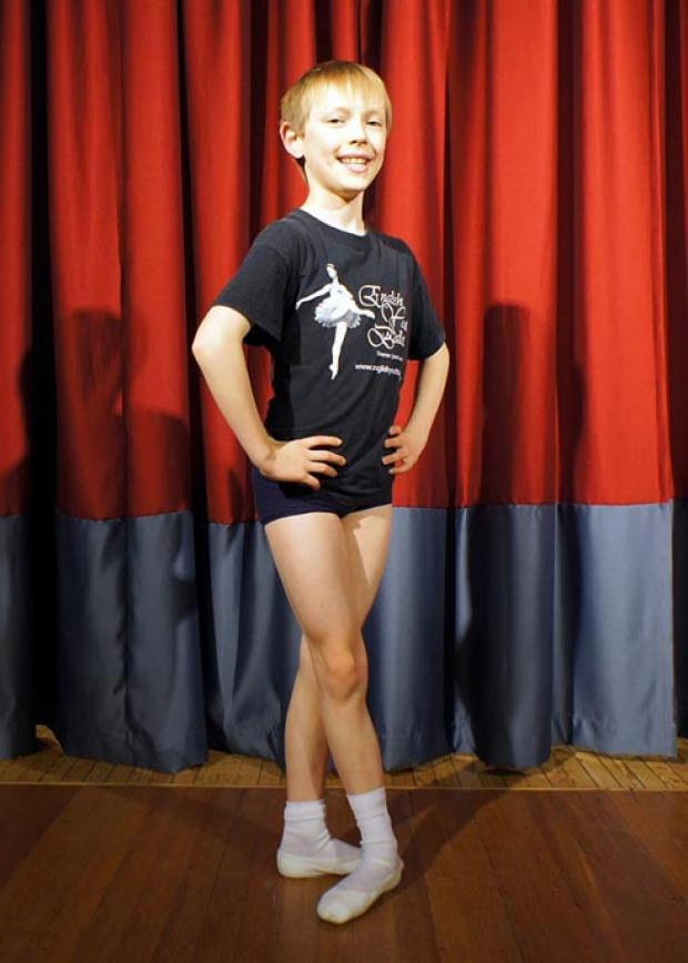 Stroud News and Journal: Young ballet star Samuel Banks, 10, has landed two roles in an English Youth Ballet production of The Sleeping Beauty