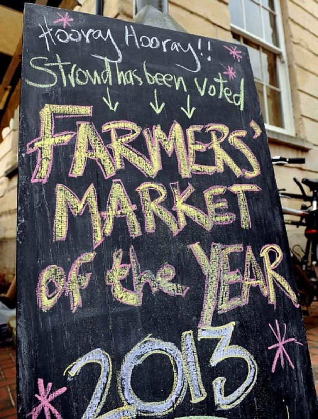 Stroud News and Journal: Farmers' market to celebrate 15th birthday this weekend