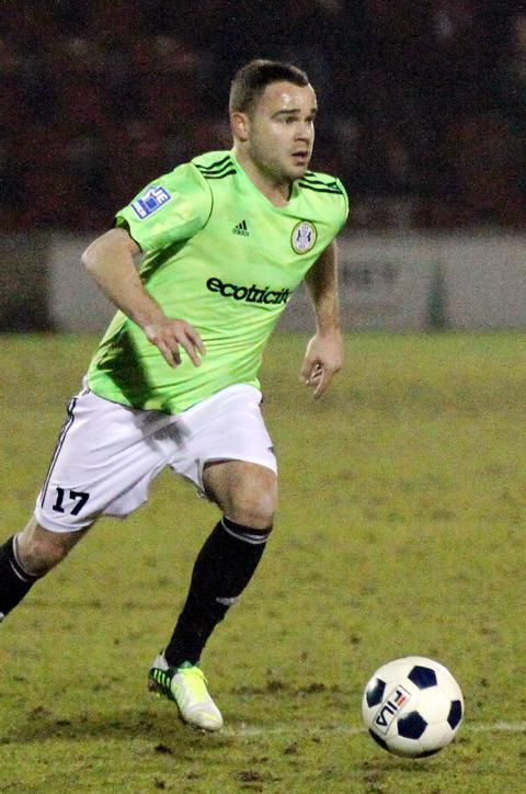 Lee Fowler started his third spell with Forest Green against Woking. Picture: Shane Healey