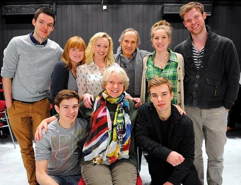 Cider With Rosie cast members including Susie Blake (centre front), who played Hilary Nicholson in Mrs Brown's Boys on BBC1 Picture: Carl Hewlett