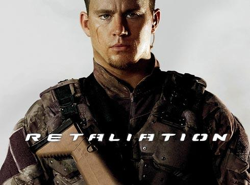 Channing Tatum, who stars in action film G.I.Joe: Retaliation has been spotted in Stroud