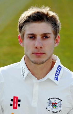 Gloucestershire batsman Chris Dent