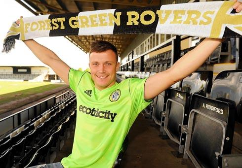 LEAVING? Forest Green striker Andy Mangan
