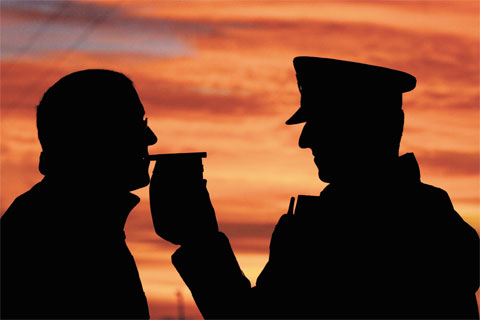 Two motorists caught over the limit in Stroud on Friday night