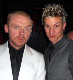 Brothers Simon Pegg and Mike Beckingham ZSEM1873V13