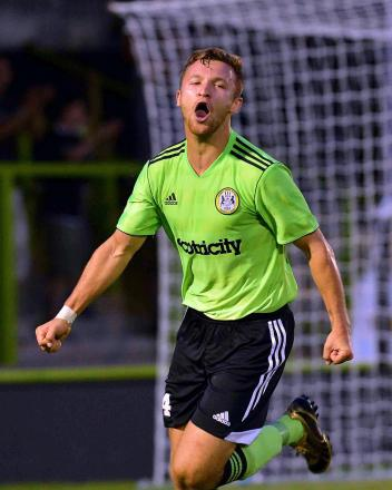 Matty Taylor has gone on loan to Chester F.C.  Pic: Bruce Fenn