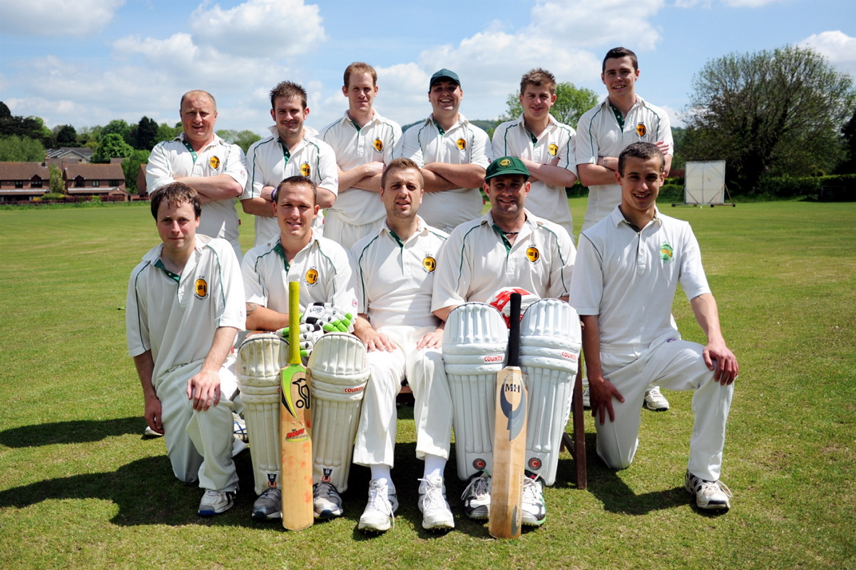Cam cricket team, whose match against Frampton-on-Severn was abandoned GLW70H13
