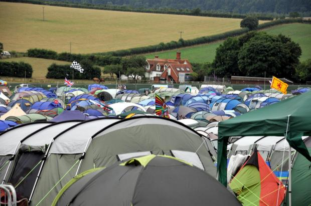 Tents should be kept 6m apart to stop fires spreading