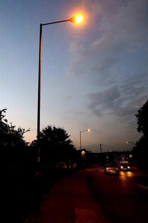 Quedgeley charges ahead with 500 LED streetlights