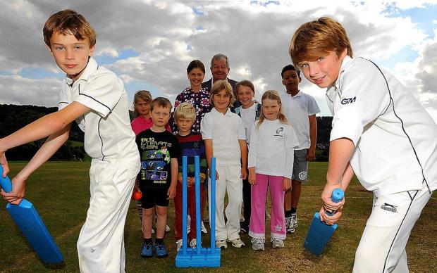 Cricketers bowled over by support after reachinig target to buy Laurie Lee field