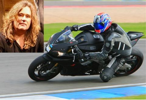 Cirencester rock star Pete Gentil was killed after his motorbike crashed into a deer in September last year