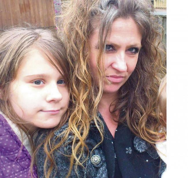 Molly Pegler, 14, has a rare hormone deficiency and has to rely on an outdated style of injection. Her mum Rachel has launched a campaign for health bosses to create an 'Epi-pen' for the condition (1235698)