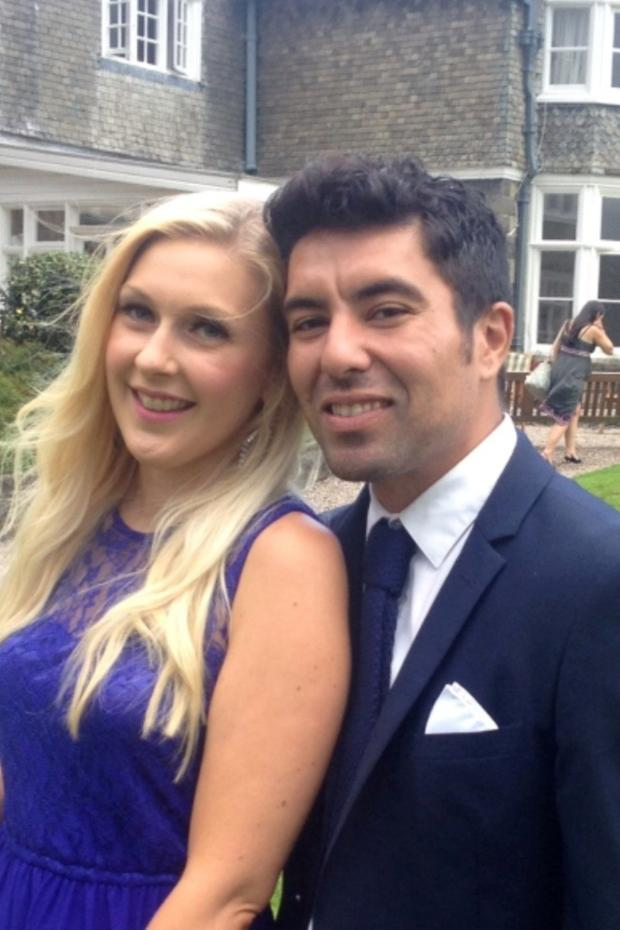 Stroud News and Journal: Nick Bonnie with his girlfriend Leah Wilkins