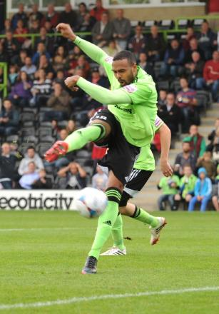 Matthew Barnes-Homer scored Forest Green's winner against Dartford in the FA Trophy