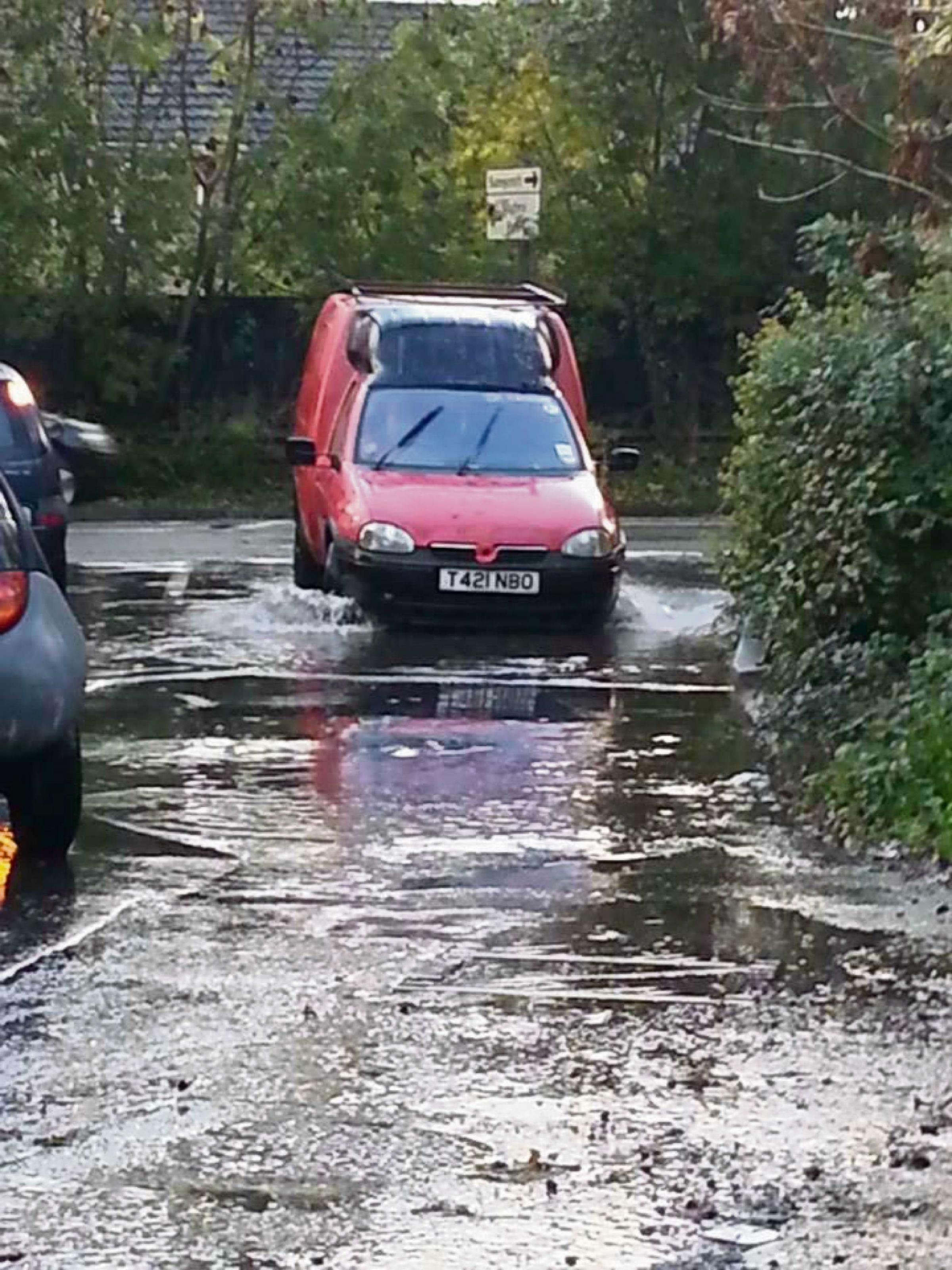 Drivers warned to take extra care on wet roads this weekend