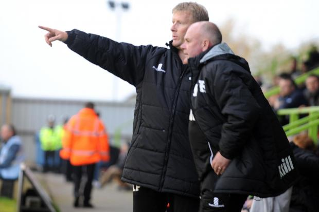 TOGETHERNESS: FGR boss Ady Pennock and Dave Kevan   Picture: Tom Wren
