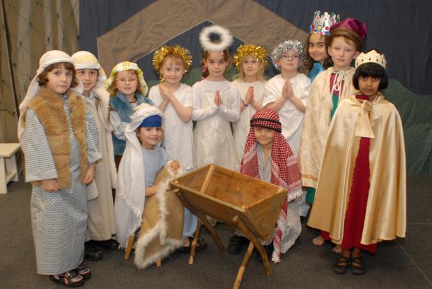 KS1 pupils from Rosary Primary School are set to entertain parents with their traditional nativity today, Wednesday