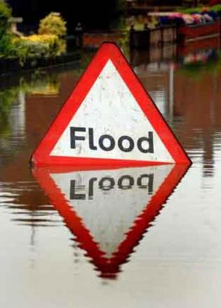 Flood alerts in place on the River Severn
