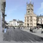 Stroud News and Journal: Artist impression of the revamped Market Place in Cirencester