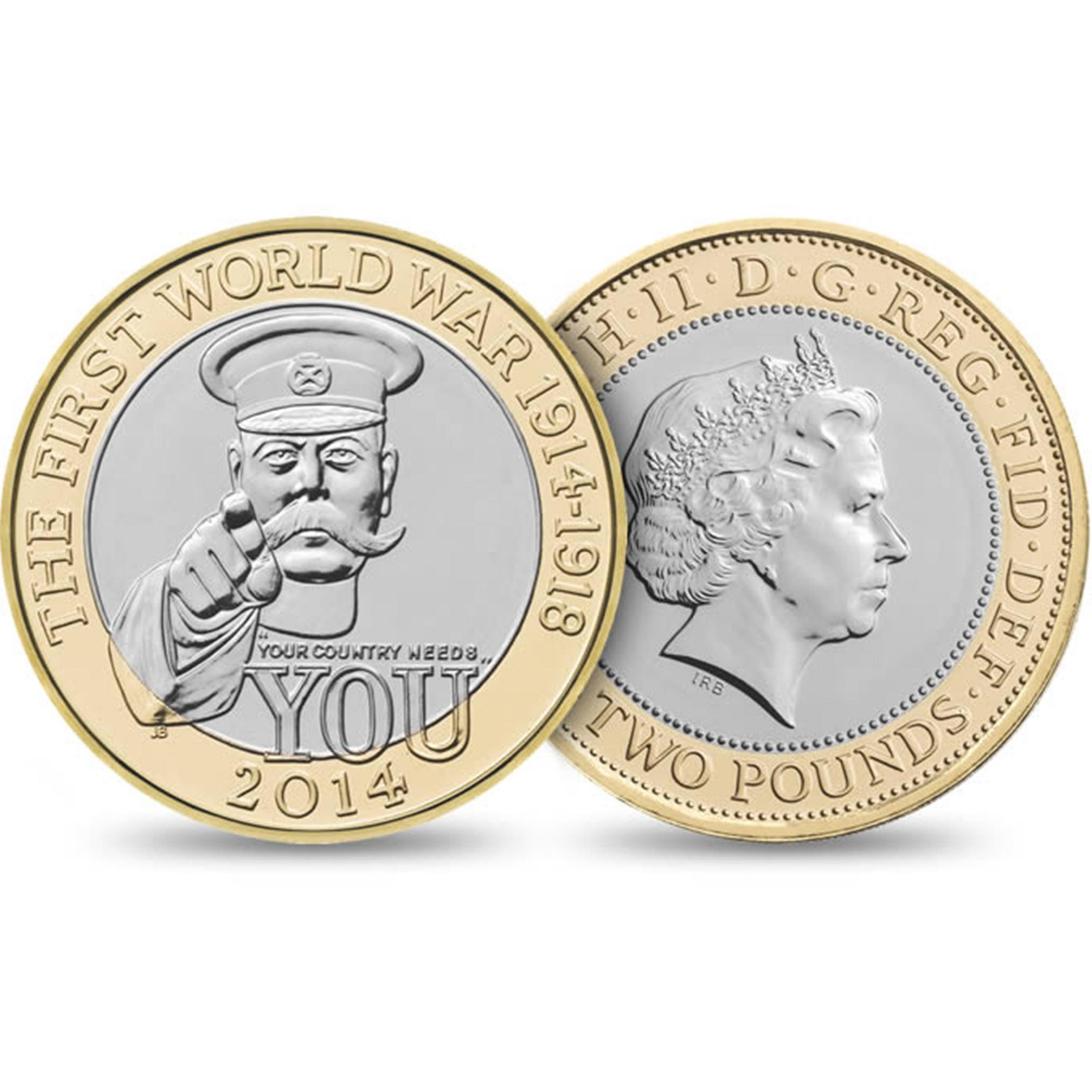 New £2 coin 'glorifies war' and does not honour WW1 dead, says Green Party leader