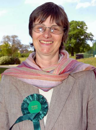 European election results - Green Molly Scott Cato elected