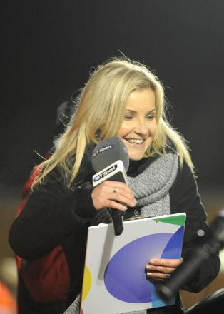 BT Sport presenter Helen Skelton