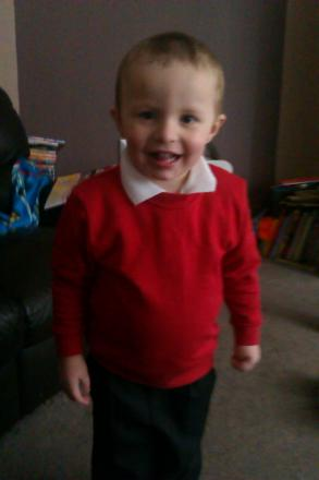 Freddie Hussey, 3, who died in an accident in January