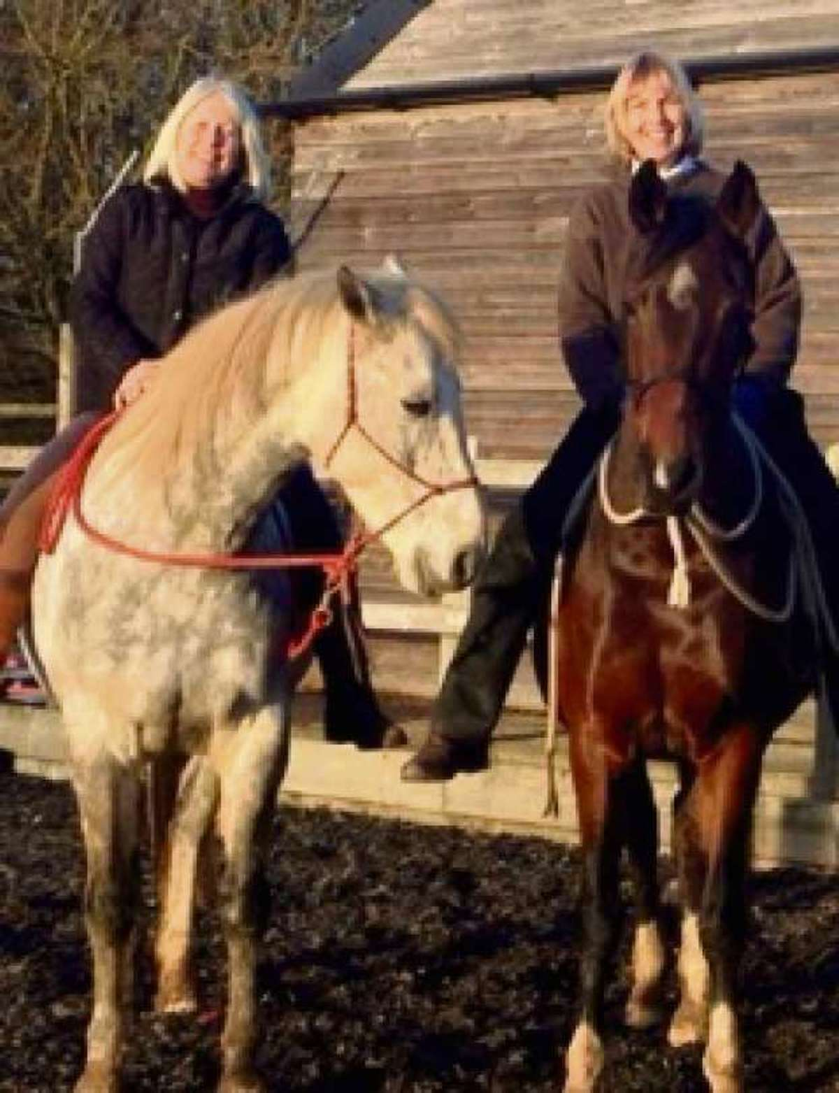 Horse instructors Jackie Evans and Sharon Crabbe will deliver a course to troubled youngsters