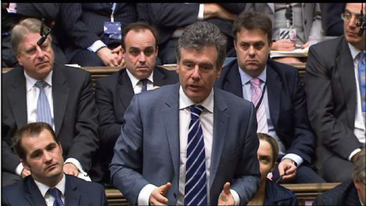 Stroud MP Neil Carmichael addressing the House of Commons